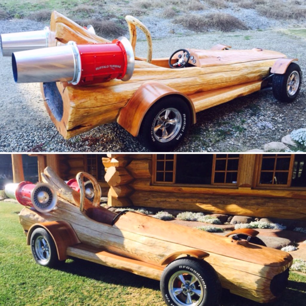 Pioneer Log Homes Sets Guinness World Record For Fastest Log Car