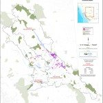 A map of spruce beetle infected areas across BC