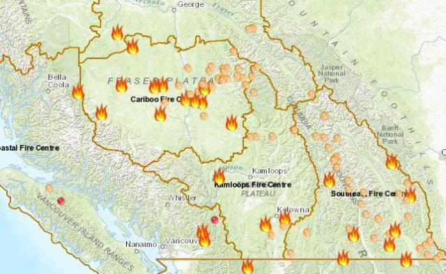 September 5 Sees 162 Wildfires Burning Across The Province My