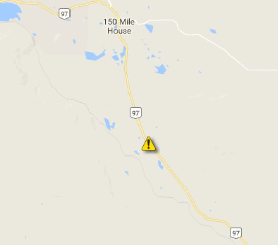 MVI Reduces Highway 97 South of Williams Lake to Single