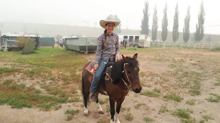 Smoke Not Holding Back Little Britches Rodeo In Williams